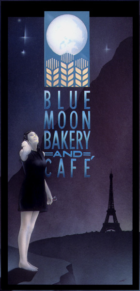 Desiré Lesert - Blue Moon ArtStudio54