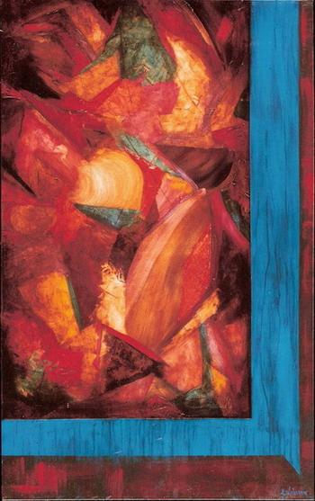 Alexandra Suarez - More Red Than Blue World Class Artist