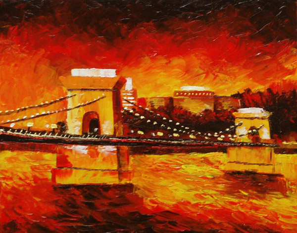 Kristin Crestejo - Hungary Chain Bridge World Class Artist