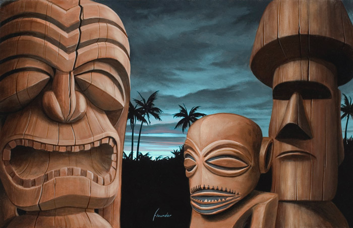 Scott Scheidly - Sunrise Tiki World Class Artist