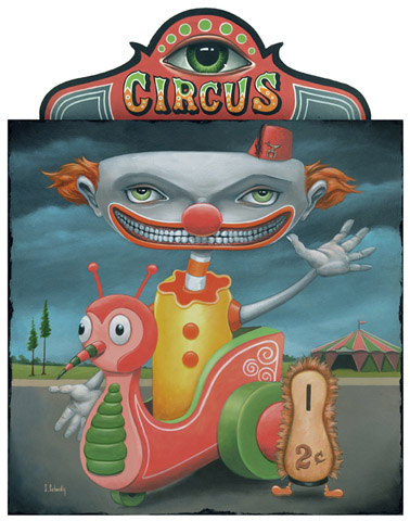 Scott Scheidly - The Circus Punks World Class Artist