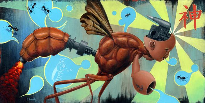 Scott Scheidly - El Insecto Dios World Class Artist
