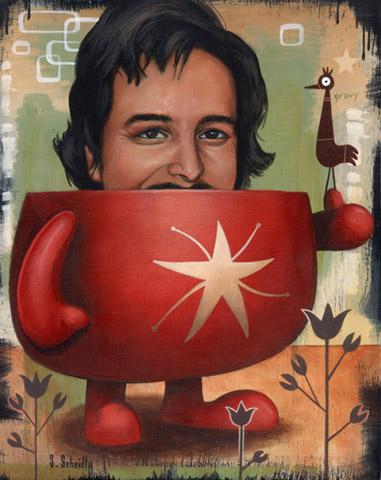 Scott Scheidly - Legend Of Lowbrow,Tim Biskup World Class Artist