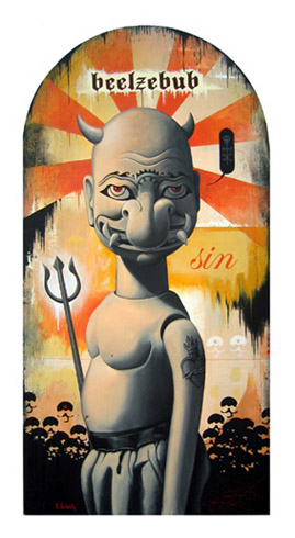 Scott Scheidly - Beelzebub World Class Artist
