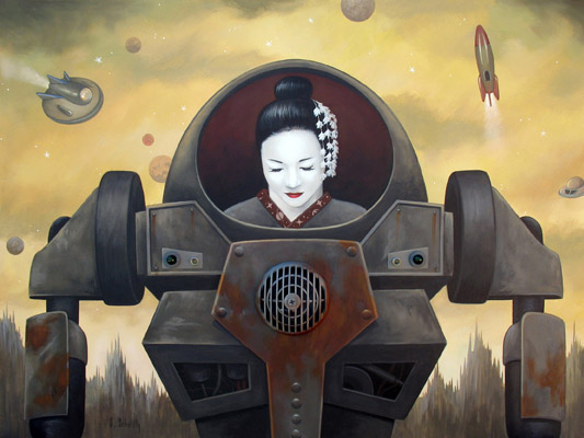 Scott Scheidly - Geisha World Class Artist