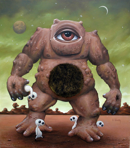 Scott Scheidly - Cyclops World Class Artist