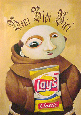Scott Scheidly - Chip Monk World Class Artist
