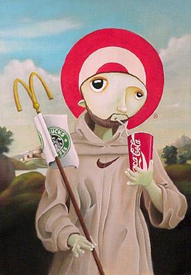 Scott Scheidly - Patron Saint of Advertising World Class Artist