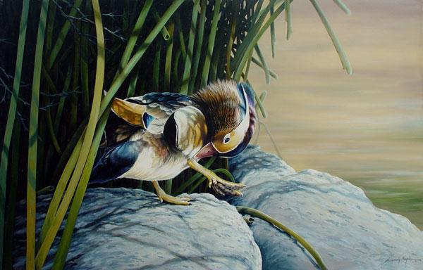 Randy Nagle - Wood Duck World Class Artist