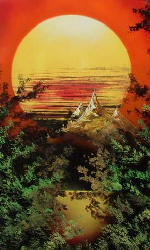 Artist Mario Aguilar - Artista de Chile World Class Artist