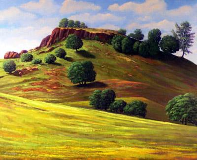 Frank Wilson - Flowering Meadow World Class Artist