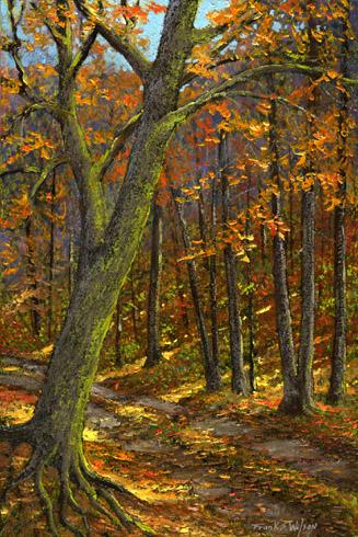 Frank Wilson - Road In The Woods World Class Artist