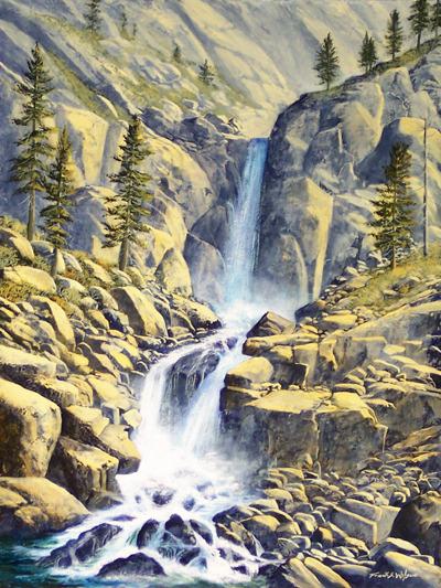 Wilderness Waterfall - Frank Wilson World Class Artist
