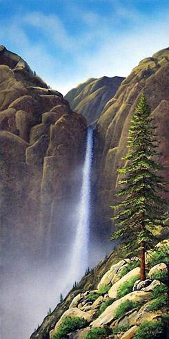 Frank Wilson - Waterfall World Class Artist