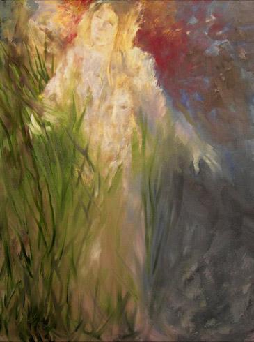 Joyce DiBona - Walk In An Overgrown Garden World Class Artist