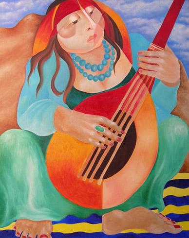 Joyce DiBona - Song in The Desert World Class Artist
