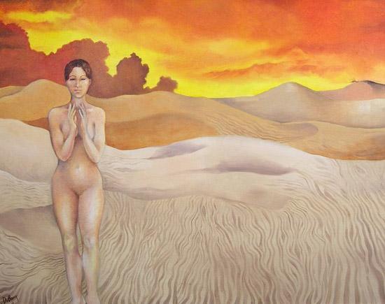 Joyce DiBona - Incident In The Desert World Class Artist