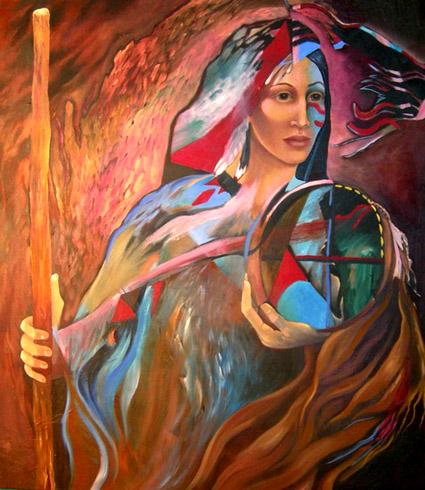 Joyce DiBona - Medicine Wheel World Class Artist