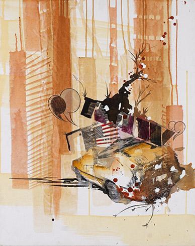 Artist Austin Blasingame - Exposition Blvd. Raw World Class Artist