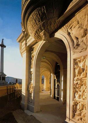 Barry Baldwin - Trafalgar Square London England World Class Artist