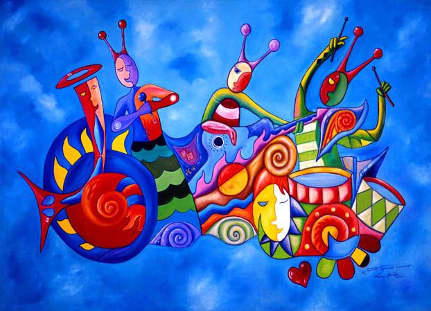 Rigoberto Antonio Guerrero - Resplendant World Class Artist