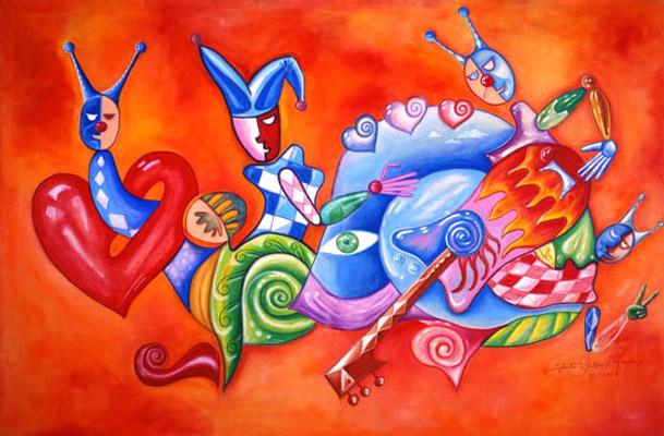 Rigoberto Antonio Guerrero - Happy Snail World Class Artist