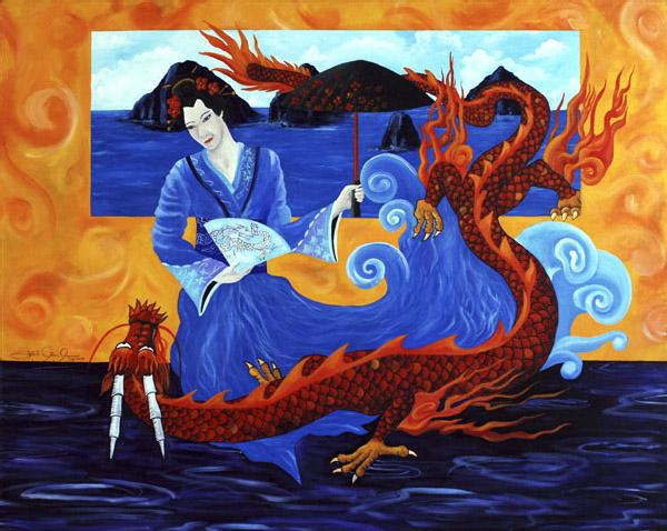 Rigoberto Antonio Guerrero - Water Fire Earth And Wind World Class Artist