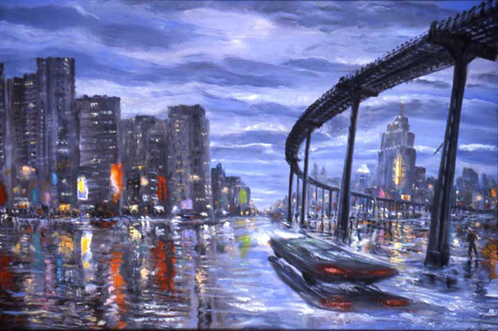 Arthur Robins - Approaching The City World Class Artist
