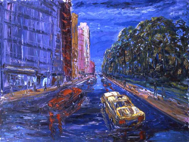 Arthur Robins - Central Park South World Class Artist