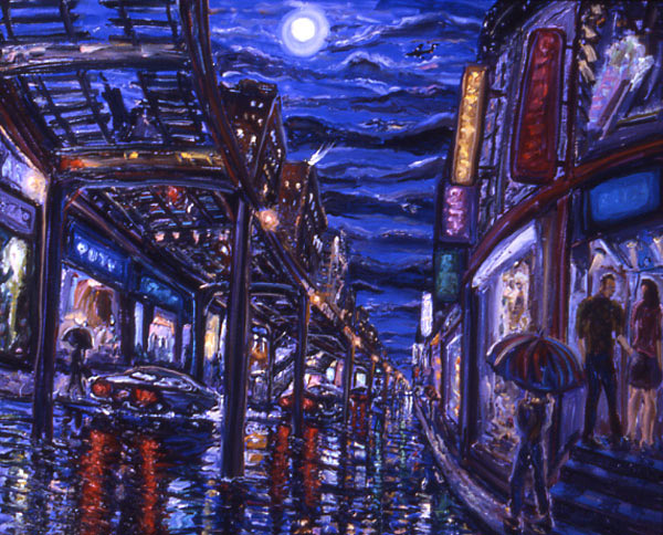 Arthur Robins - Night Out In The City World Class Artist