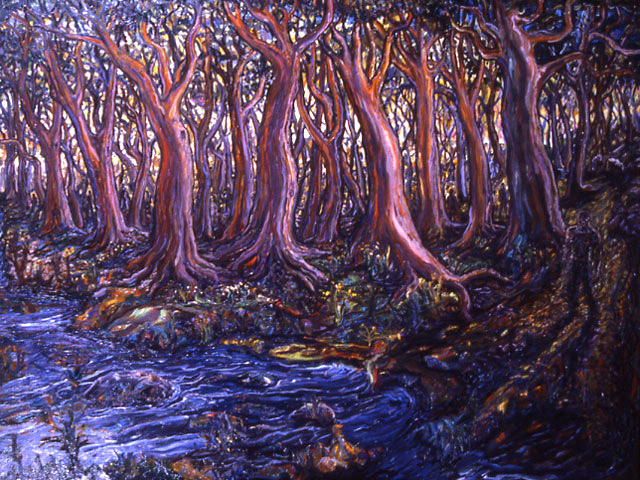 Arthur Robins - Setinal Trees World Class Artist