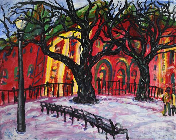 Arthur Robins - Stuyvesant Park World Class Artist