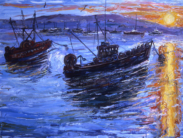 Arthur Robins - Monterey Dock Two World Class Artist