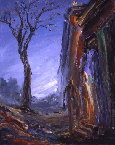 Arthur Robins - Figure Entering Doorway World Class Artist