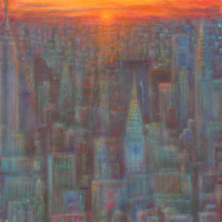 Allan Linder - Sunrise On A Dream World Class Artist