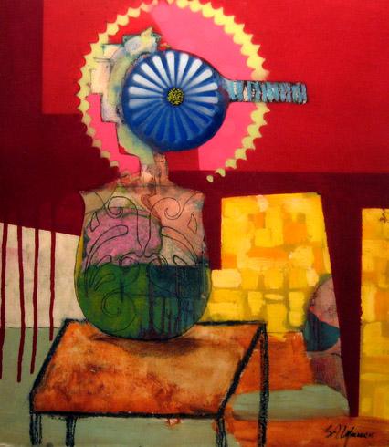 Stuart Allen Walker - Flowers #5 World Class Artist