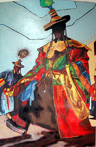 Stuart Allen Walker - Tibetan Dancers World Class Artist