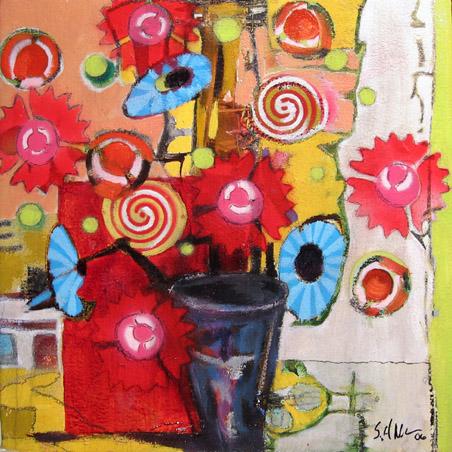 Stuart Allen Walker - Flowers #4 World Class Artist