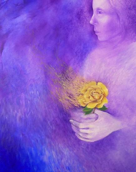 Artist Joyce DiBona - My Mother's Passing World Class Artist