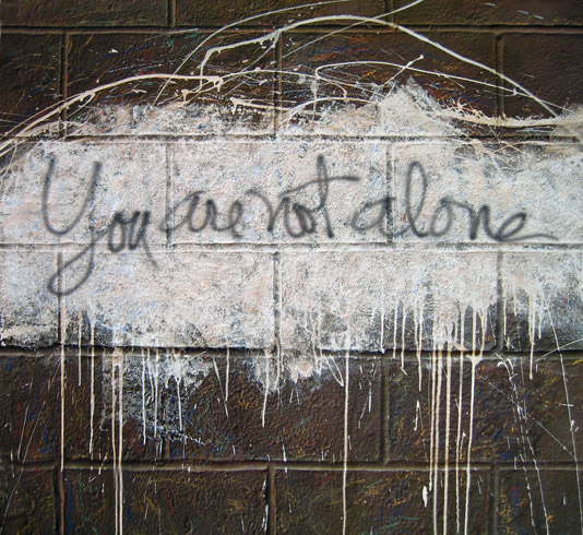 You Are Not Alone - Nolan Haan World Class Artist
