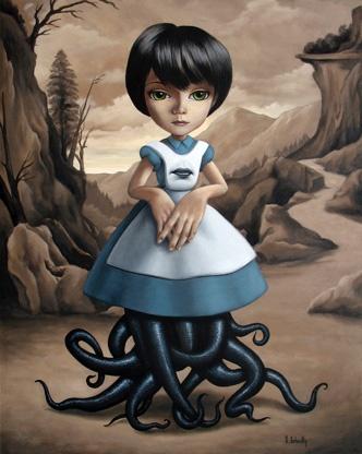 Alice In Blunderland - Scott Scheidly World Class Artist