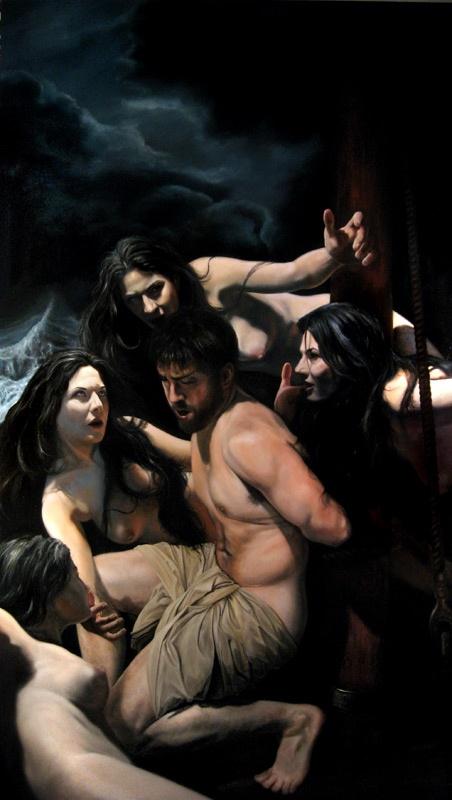 Artist Eric Armusik - Odysseus and the Sirens World Class Artist