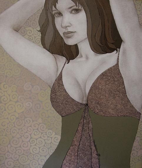 Just A Girl   Olga Gouskova - Belgium Artist World Class Artist