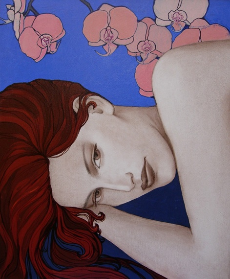 Wild Orchid | Olga Gouskova - Belgium Artist World Class Artist