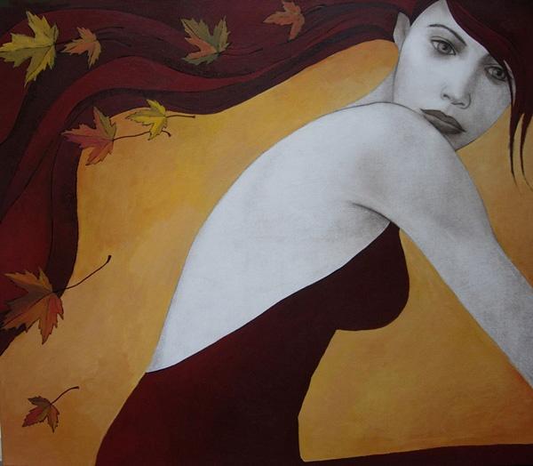 Automn Mood     Olga Gouskova - Belgium Artist World Class Artist