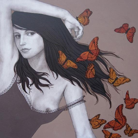Butterflies   Olga Gouskova - Belgium Artist World Class Artist