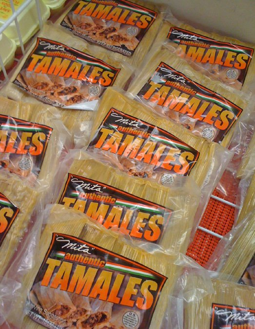 Mitas' Authentic Tamales - In The Store ArtStudio54