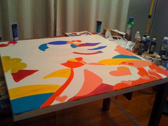 Christmas Fun - December 24th 2010 ArtStudio54