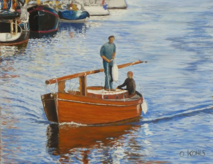 Oliver Kohls | Holzboot in Harlingen World Class Artist