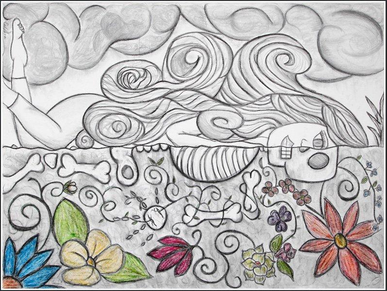 Artist Calena Cortes | Calavera Art World Class Artists